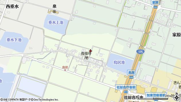 〒673-1452 兵庫県加東市鳥居の地図
