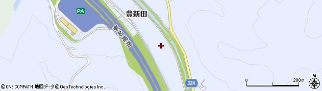 愛知県岡崎市池金町(豊新田)周辺の地図
