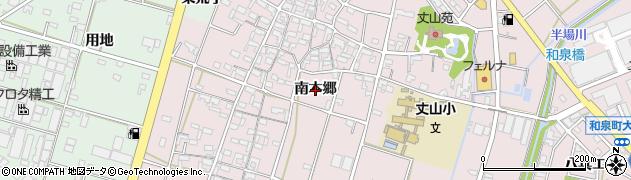 愛知県安城市和泉町(南本郷)周辺の地図