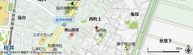 日本料理やっかん周辺の地図