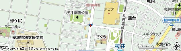 桜井町貝戸尻周辺の地図