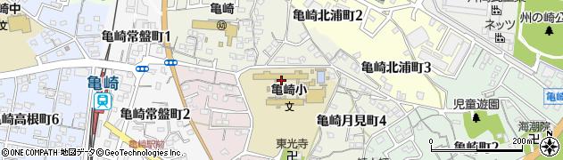 愛知県半田市亀崎月見町周辺の地図