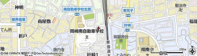 カレント周辺の地図