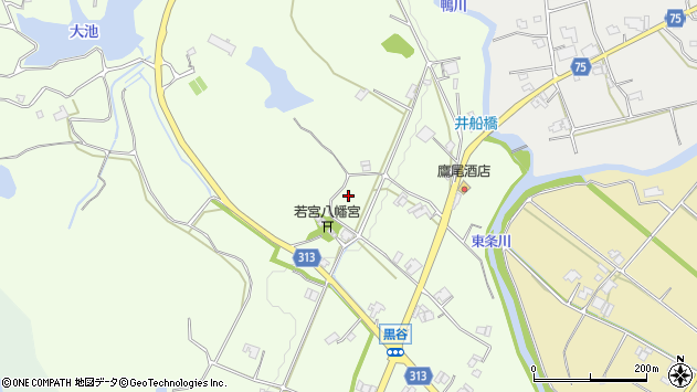 〒673-1301 兵庫県加東市黒谷の地図