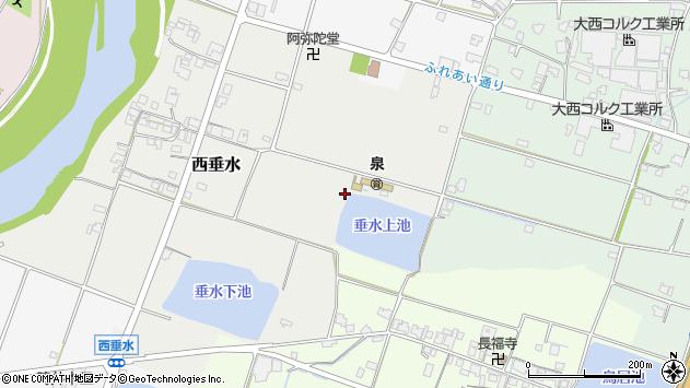 〒673-1455 兵庫県加東市西垂水の地図