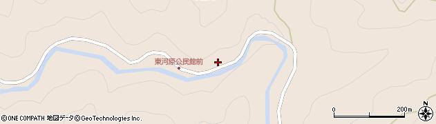 愛知県岡崎市東河原町(枯地戸)周辺の地図