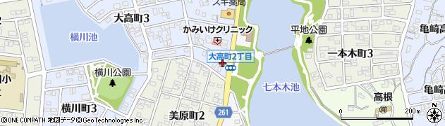 藤周辺の地図