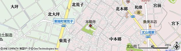 本龍寺周辺の地図