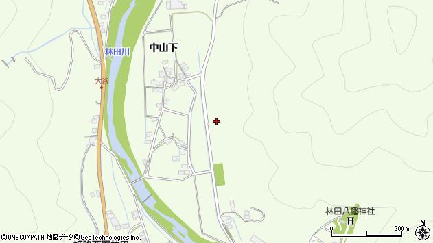〒679-4214 兵庫県姫路市林田町中山下の地図