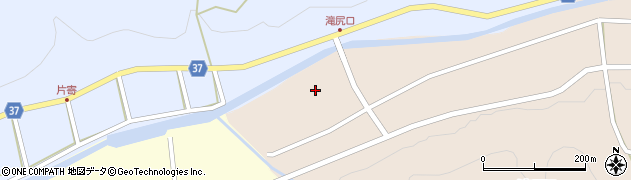 愛知県岡崎市滝尻町下堺津周辺の地図