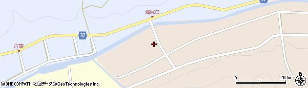 愛知県岡崎市滝尻町(青木)周辺の地図