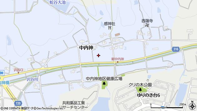 〒669-1334 兵庫県三田市中内神の地図