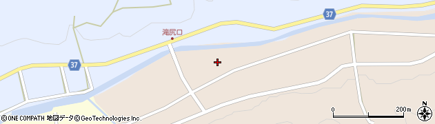 愛知県岡崎市滝尻町中堺津周辺の地図