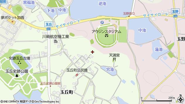 〒679-0109 兵庫県加西市玉丘町の地図