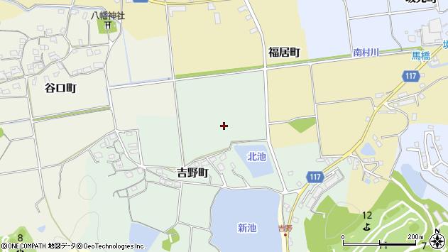 〒675-2353 兵庫県加西市吉野町の地図