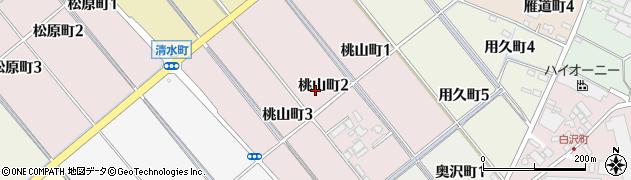 愛知県碧南市桃山町周辺の地図