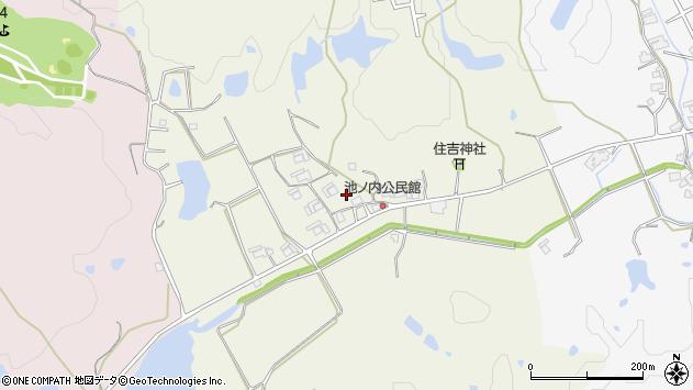 〒673-1413 兵庫県加東市池之内の地図