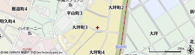 愛知県碧南市大坪町周辺の地図