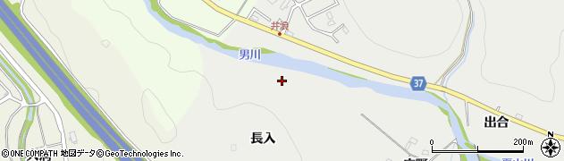 愛知県岡崎市樫山町(大渕)周辺の地図