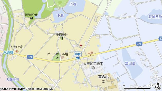 〒679-0108 兵庫県加西市山枝町の地図