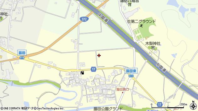 〒673-1462 兵庫県加東市藤田の地図