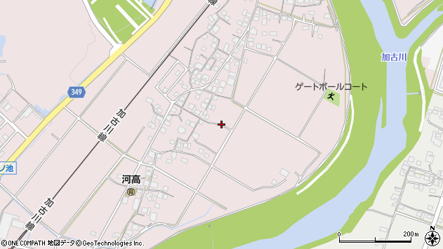 〒679-0221 兵庫県加東市河高の地図