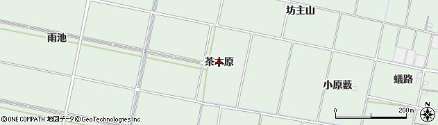 愛知県安城市桜井町(茶木原)周辺の地図
