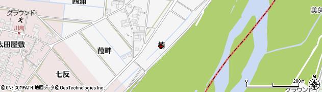愛知県安城市村高町(楠)周辺の地図