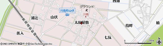 愛知県安城市川島町(太田屋敷)周辺の地図