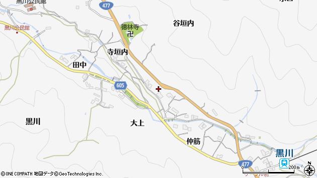 〒666-0101 兵庫県川西市黒川の地図