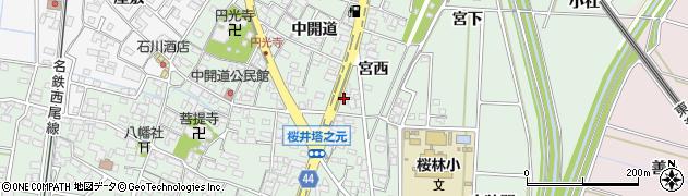 うどん圓山周辺の地図