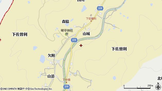 〒669-1203 兵庫県宝塚市下佐曽利の地図