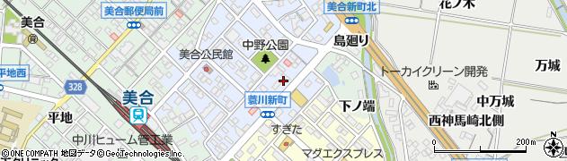 祭寿司美合店注文受付周辺の地図