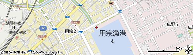 静岡県静岡市駿河区港周辺の地図
