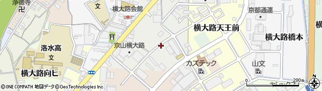 京都府京都市伏見区横大路鍬ノ本周辺の地図