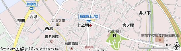 不二周辺の地図