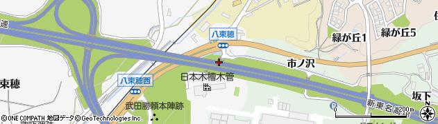 愛知県新城市八束穂(奧ノ久保)周辺の地図