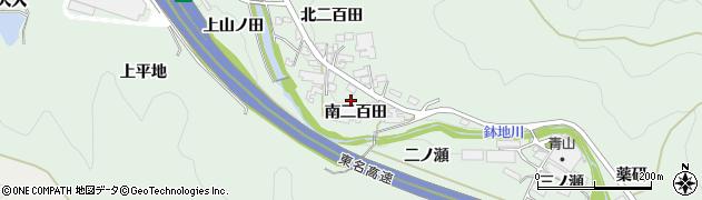 愛知県岡崎市保母町(南二百田)周辺の地図