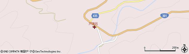 愛知県新城市作手保永(カド)周辺の地図