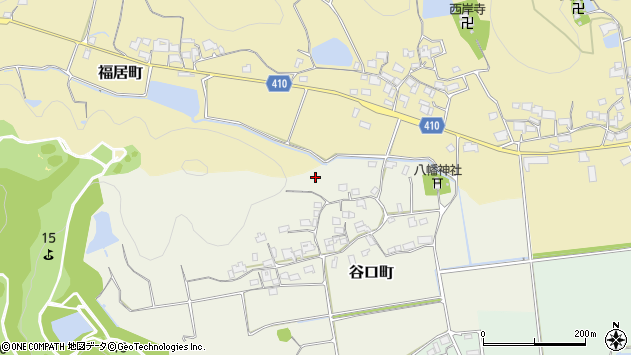 〒675-2352 兵庫県加西市谷口町の地図