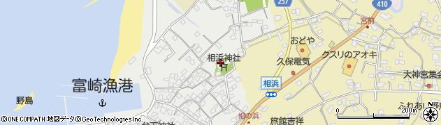 相浜神社周辺の地図