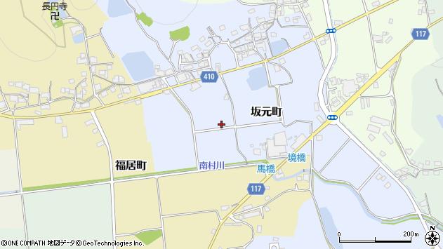 〒675-2336 兵庫県加西市坂元町の地図