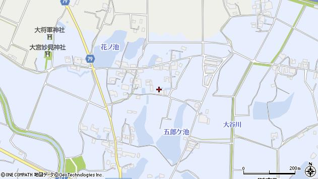 〒679-0103 兵庫県加西市別府町の地図