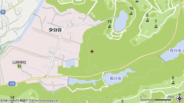 〒673-1303 兵庫県加東市少分谷の地図