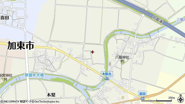 〒673-1461 兵庫県加東市木梨の地図