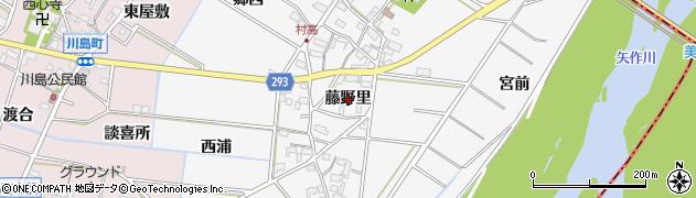 愛知県安城市村高町(藤野里)周辺の地図
