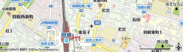 たぬき周辺の地図