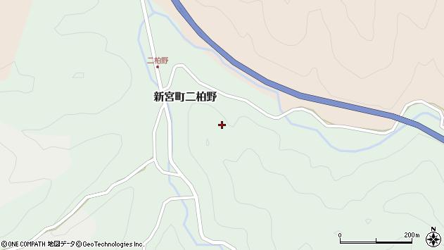 〒679-5164 兵庫県たつの市新宮町二柏野の地図