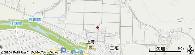 島根県浜田市上府町(三宅)周辺の地図