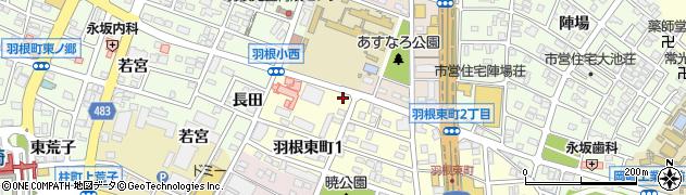 癒玄屋周辺の地図